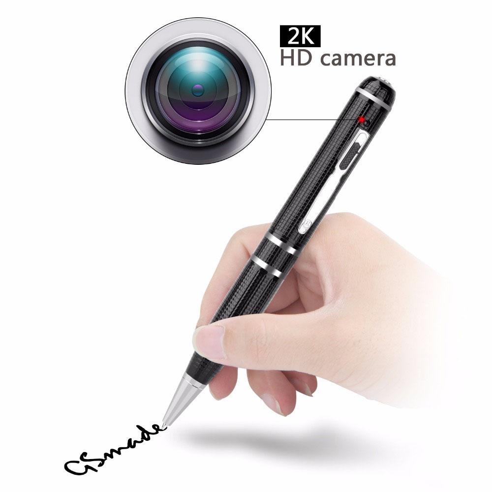 Plus récent Enregistrement Vidéo Full HD Caché 2k Espion Stylo Caméra Avec Vision Nocturne caméra vidéo stylo 16 GO