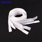 Zippers Zippers Nylon Zippers For Suits White 3# 5# 7#