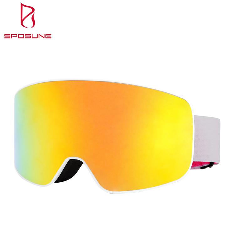 New arrival OTG for Men Women Custom Cylindrical Dual Lens Snowboard Snow Goggles