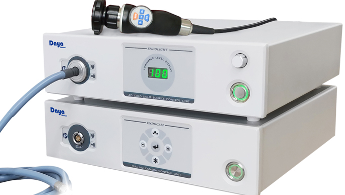 Définition Standard 700 lignes caméra d'endoscopie pour la chirurgie ORL