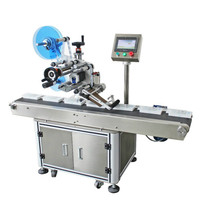 Factory Price Bar Code Print Pasting Label Applicator, Automatic Box Carton Pouch Bag Flat Labeling Machine