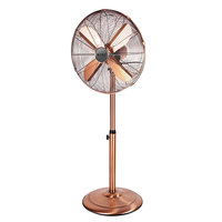 Summer hot sales electric room metal stand fan 16 inch with oscillation
