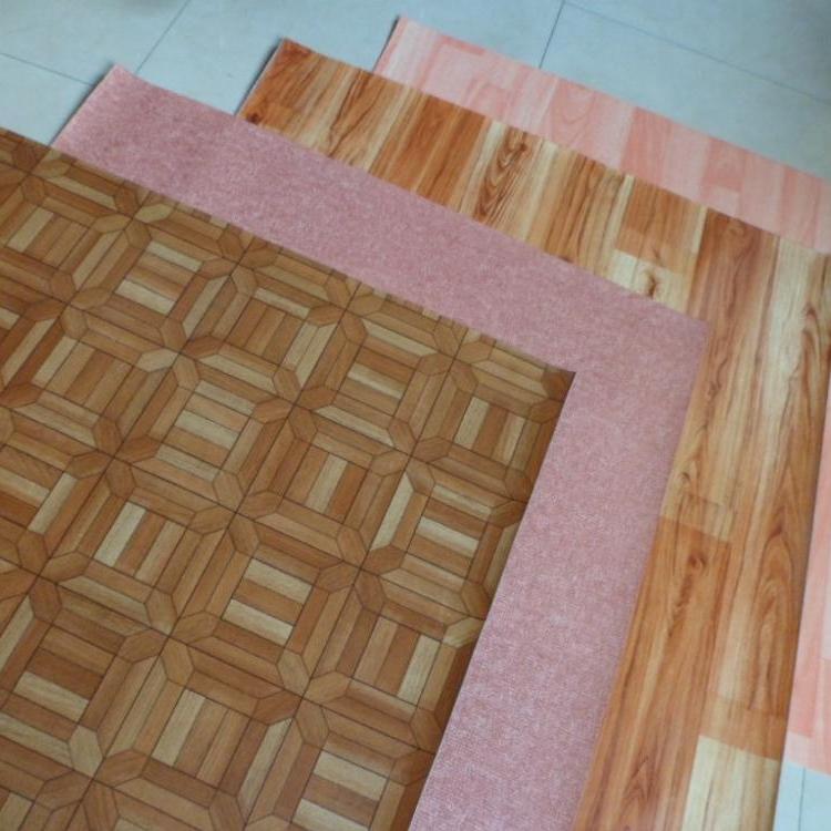 Foam Backing Pvc Vinyl Floor Roll For