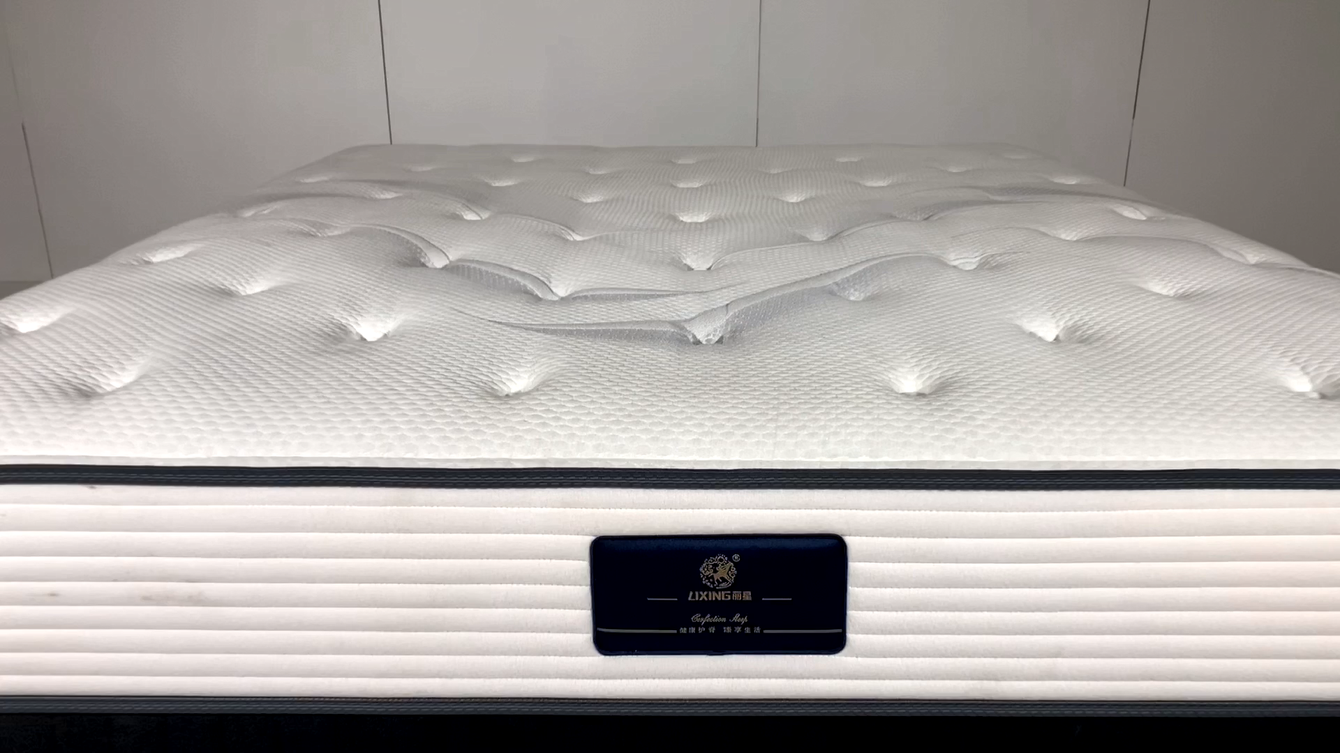 Comfortable soft latex natural Belgian knitted fabric mattress