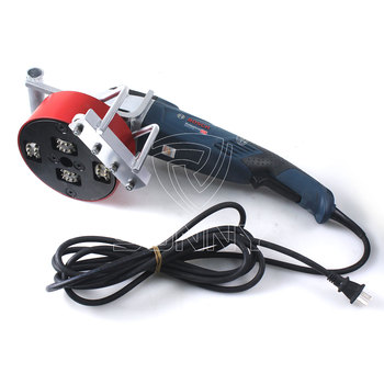 Diamond Bush Hammer Angle Grinder