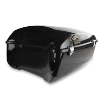 Motorcycle Black Tour Pack Trunk For Harley Touring Road King Electra Glide 2014-2019