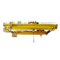 Double Trolley Overhead Bridge Crane 50ton