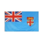 new products 100% polyester world Fiji flag printing with brass grommets