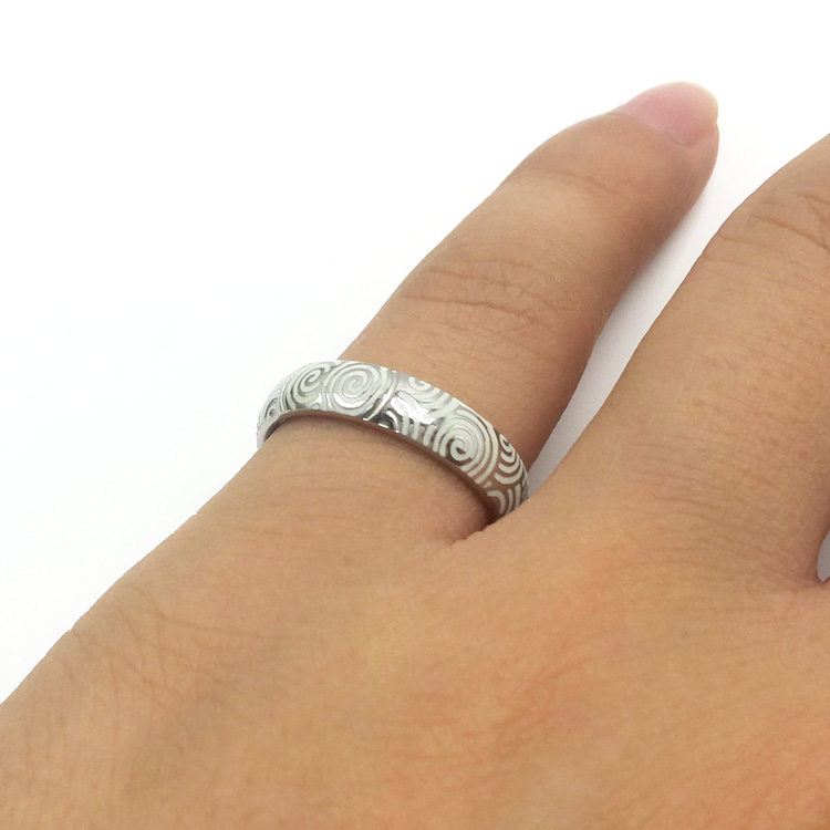 Gold Supplier Fashion Wholesale Stainless Steel Jewelry Rings