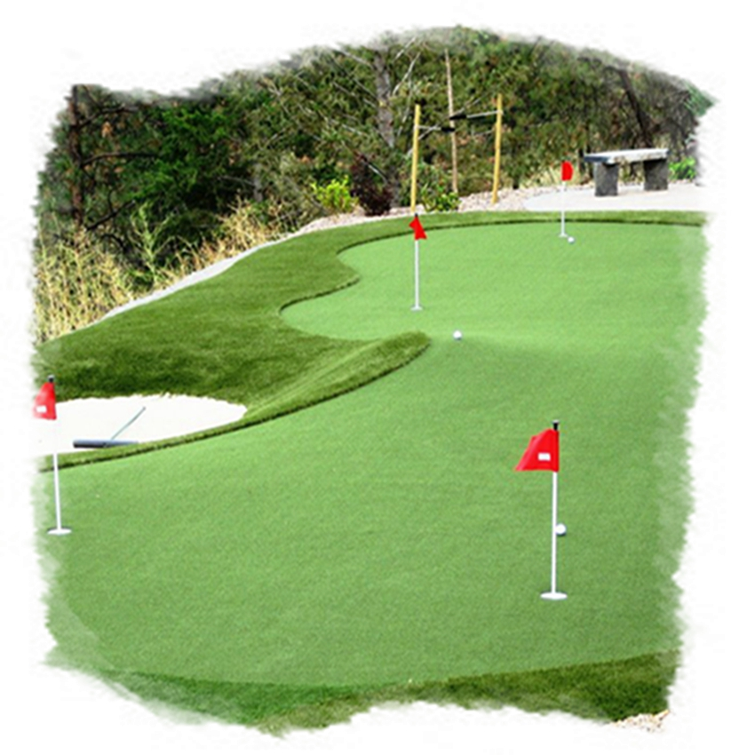 Indoor Outdoor Artificial Grass Mini Golf Putting Green grass carpet golf grass