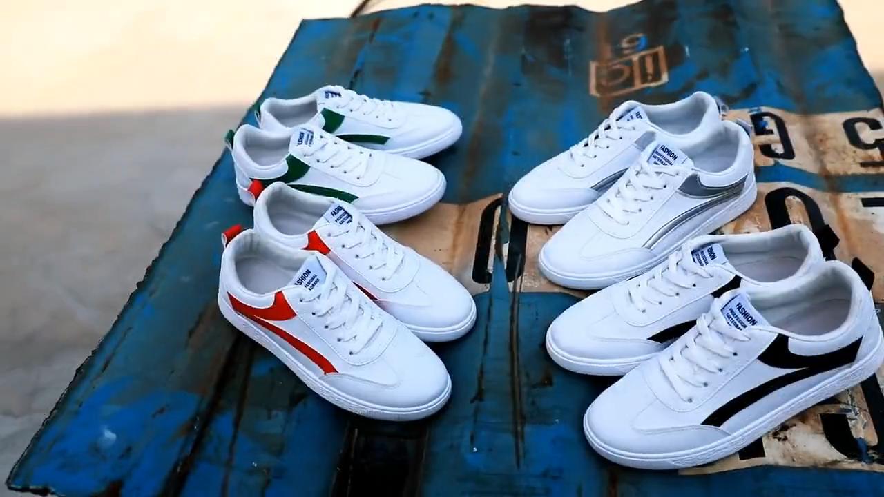 Sh10528a-zapatos informales de verano para hombre, calzado barato al por mayor en china, 2020