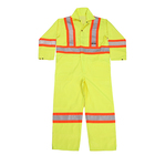 Glory Hi vis workwear Reflective overalls for men Safety Coveralls