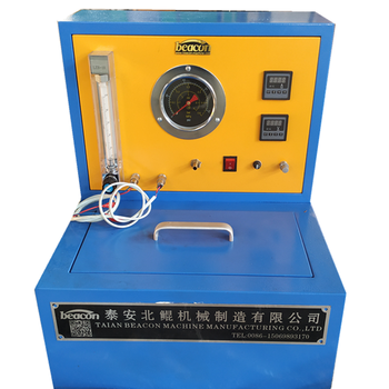 On promotion QCM300 auto electric fuel pump test stand