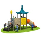 Baby Outdoor Soft Play Equipment Family Fitness Kid Intelligent Development Playground Fable Theme