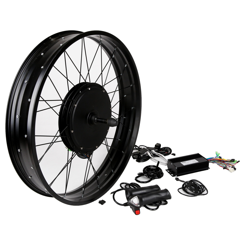 Factory price 90km/h high speed electric bike kit 5000W super hub motor electric bike kit 5000w DIY