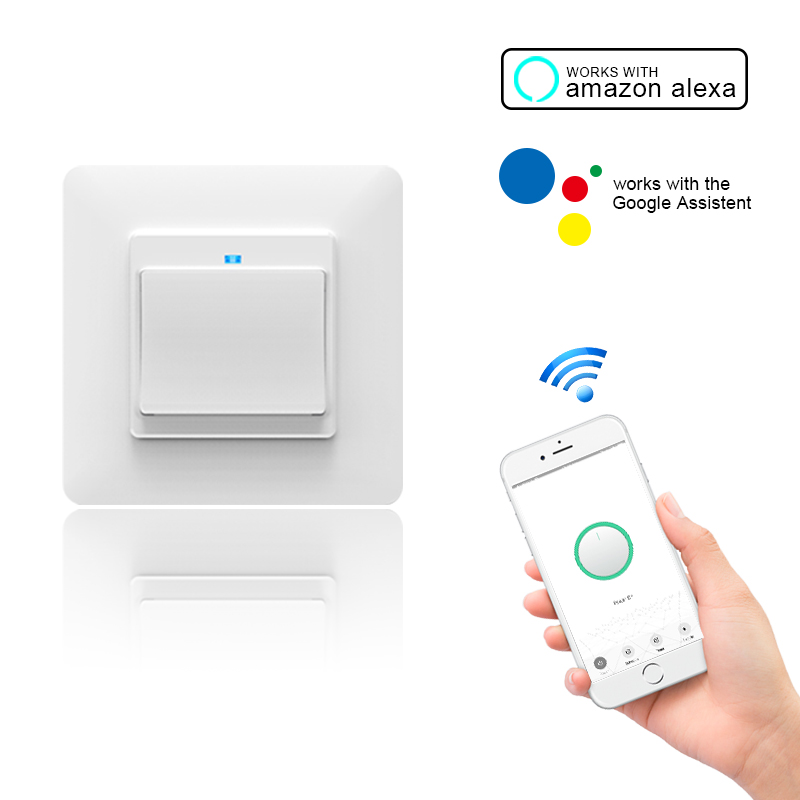 2020 Newest Technology Smart Life App Remote Control EU Smart Wifi Switch