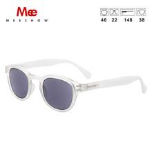Meeshow очки для чтения мужские и женские очки ретро модные очки компьютерные защитные очки оправа круглая Мужская Пресбиопия 1513(China)