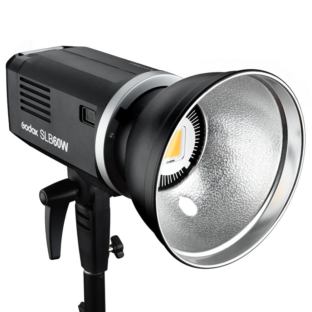 GODOX SLB60W portable outdoor use Video Light LED focus light lithium battery big power Studio Light