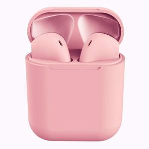 Bluetooth Headphones InPods i12 Macaron  Matte Bluetooth Earphones Intelligent Automatic Connection Wireless Earbuds