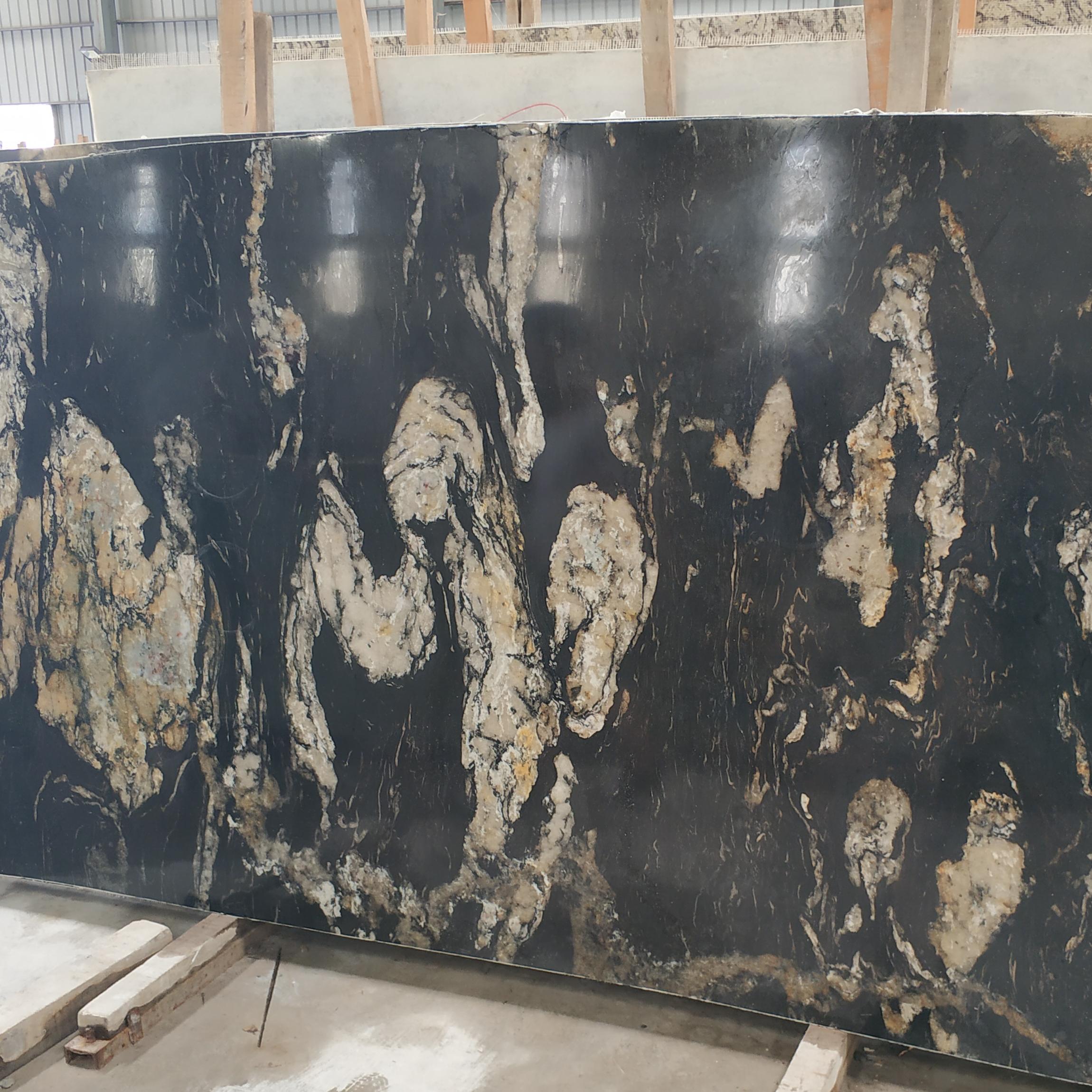 Black Titanium Granite Slab For Kitchen Countertop Buy Cosmic Black Granite Countertop Black Granite Slabs Black Titanium Granite For Countertop Product On Alibaba Com