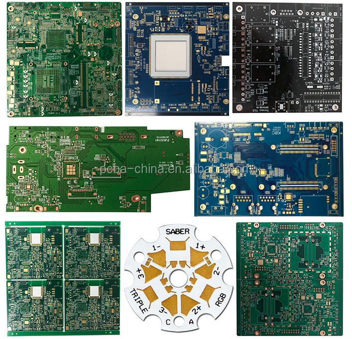 चीन निर्माताओं कस्टम इलेक्ट्रॉनिक fpcb पीसीबी विधानसभा pcba fr4 आरयू 94v0 मुद्रित सर्किट बोर्ड