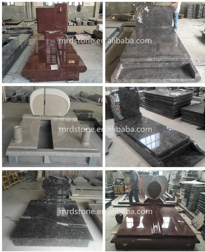 Factory Polished Granite Monument Tombstone