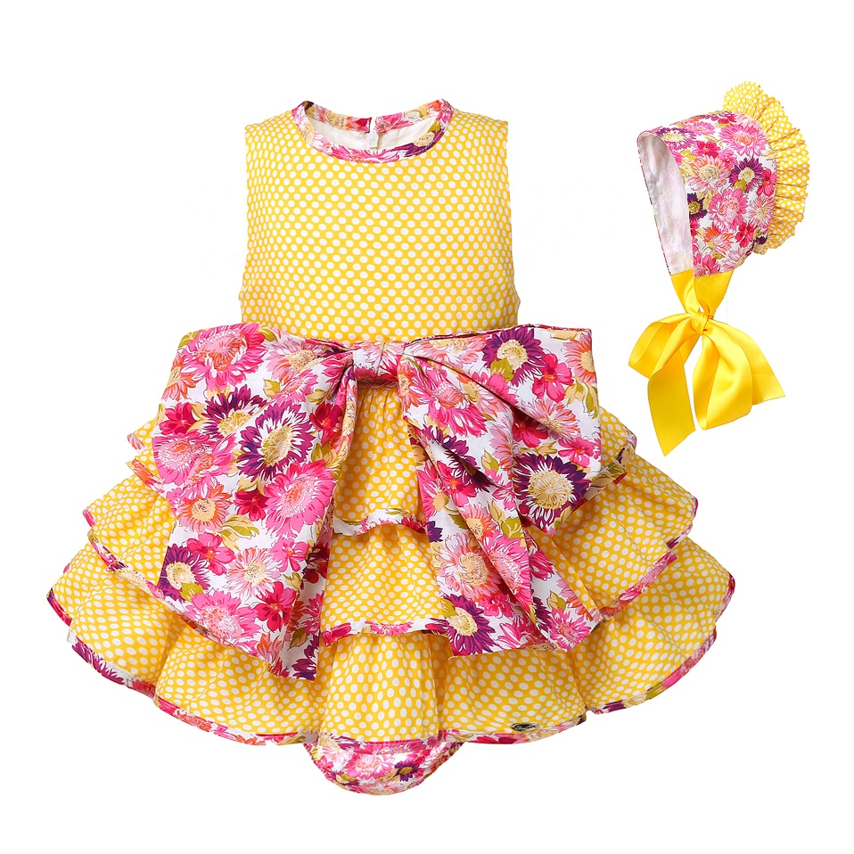 CUSTOM MADE Pettigirl <strong>Kids</strong> <strong>Fashionable</strong> Clothing Sleeveless <strong>Girl</strong> Dress Summer <strong>Girls</strong> Clothing Set