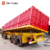 80Tons 90Tons 3 Axles Side Tipper Semi Truck Trailer