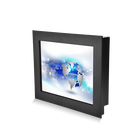 oem indoor kiosk wall mount 19 / 24 inch 1920x1080 industrial capacitive touch screen computer lcd monitor pc
