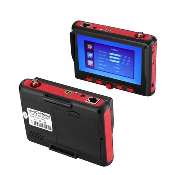 Portable 4 in 1 AHD+TVI+CVBS +CVI 5mp 8mp Camera Tester 1080P CCTV Tester 5Inch LCD Video Test 5V/12V Power Output Cable Test