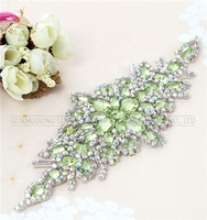 Clear Pearl Rhinestone Bridal Dress Trimming Beaded Wedding Trim-Bridal Belt