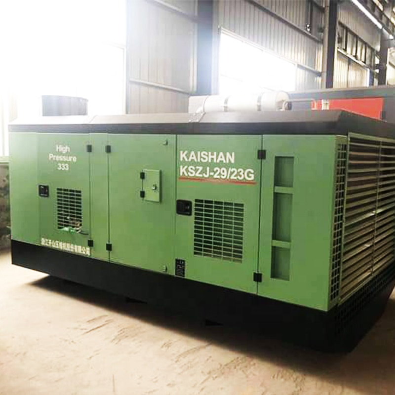 Kaishan 1817 Diesel Screw Air Compressor Mining Compressor for Water Well Drilling