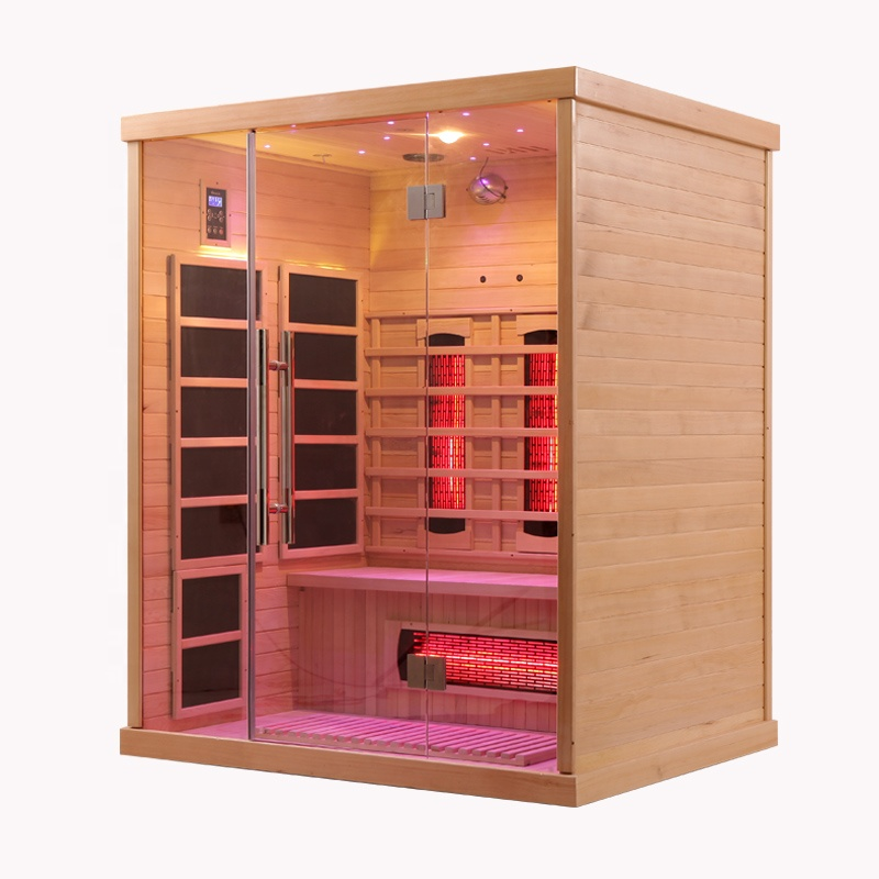 Канадская красная кедровая деревянная комната наружная Паровая Сауна для продажи