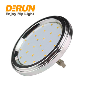 SMD 2835 12V Aluminum Cover GX53 CRI 80 220V 6w 8W 12W AR111 LED Spot Light , LED-AR111