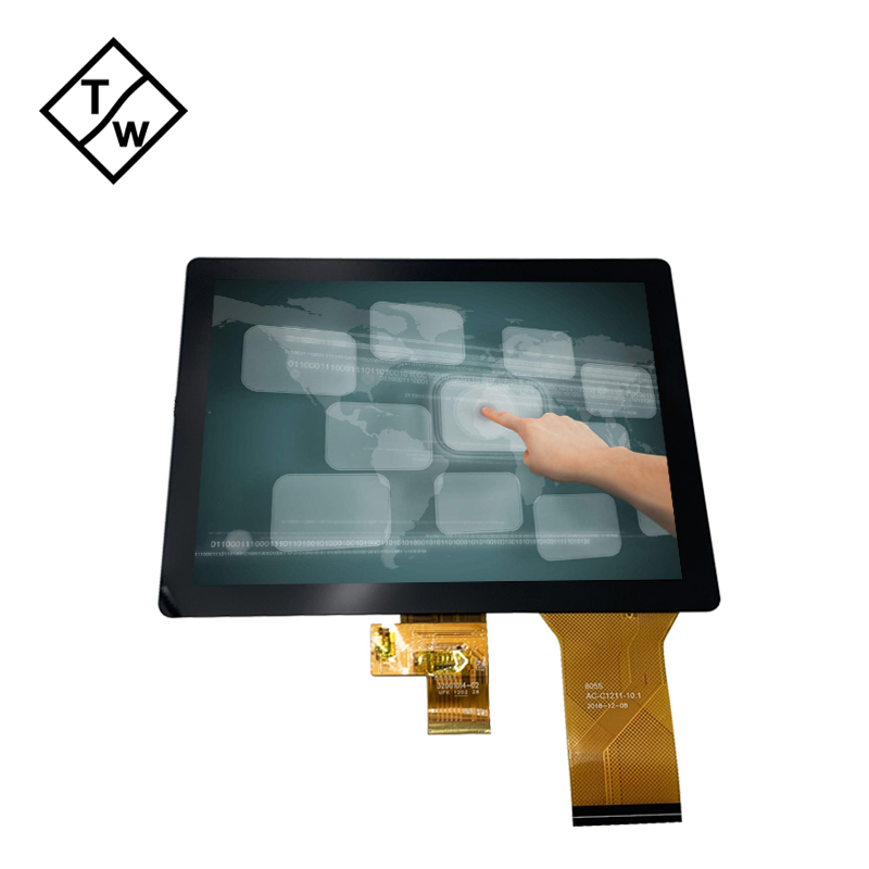 TFT LCD Panel 1024x768 Resolution 8 inch Capacitive <strong>Touch</strong> <strong>Screen</strong> Overlay <strong>Kit</strong>