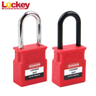 Hot Deal [ Brand Padlock ] Padlock Lockout Lockey Brand New Automatical Pop-up 38mm Shackle Lockout Tagout Safety Padlock Master Key