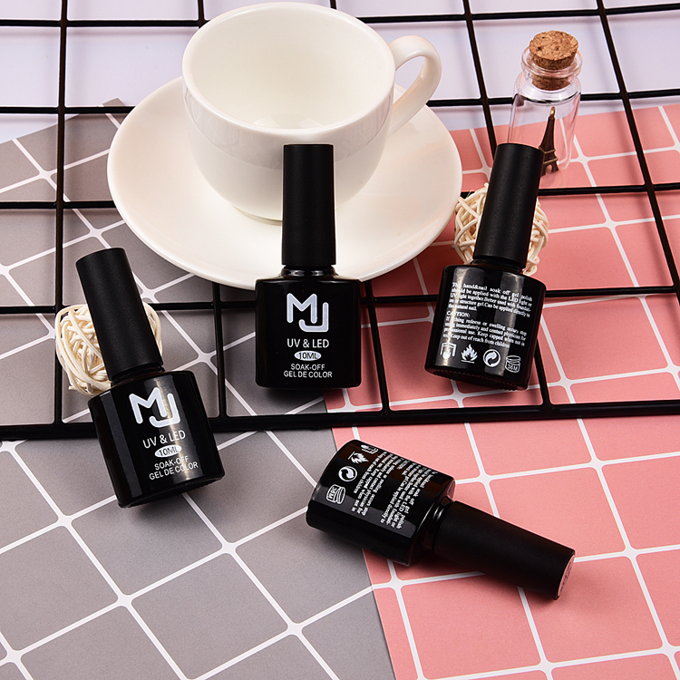 10ml glazen fles langdurige versterken bling led uv nail gel top coat nagellak gel nail art top jas