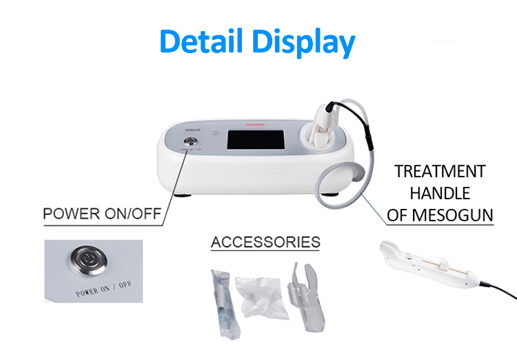 2020 Manufacturer Mesotherapy Wrinkle Removal Mesotherapy Gun For Skin Care Beauty Machine