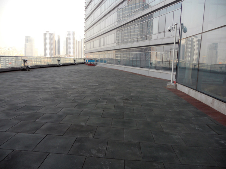 High quality Non toxic recycle heat resistant rubber mat floor for sale