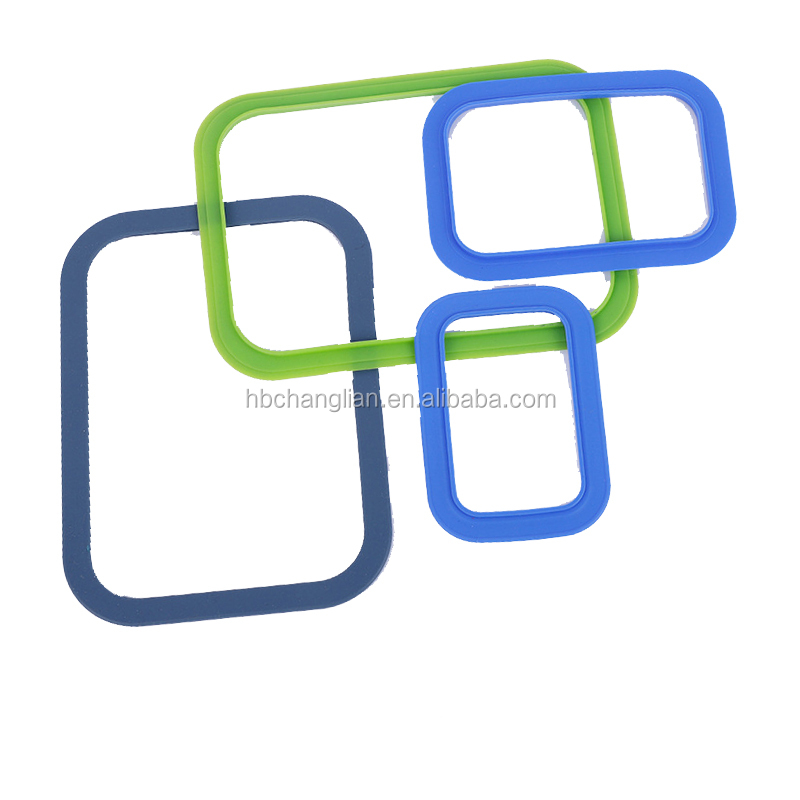 silicon rubber d ring shaped sealing gasket for auto gasket