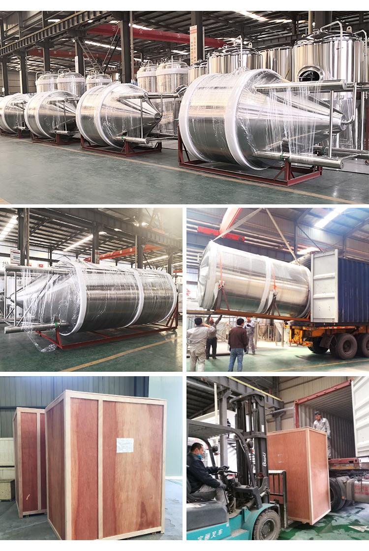 Large Beer Fermentation Tank 1000L 2000L 3000L 4000L 6000L 10000L