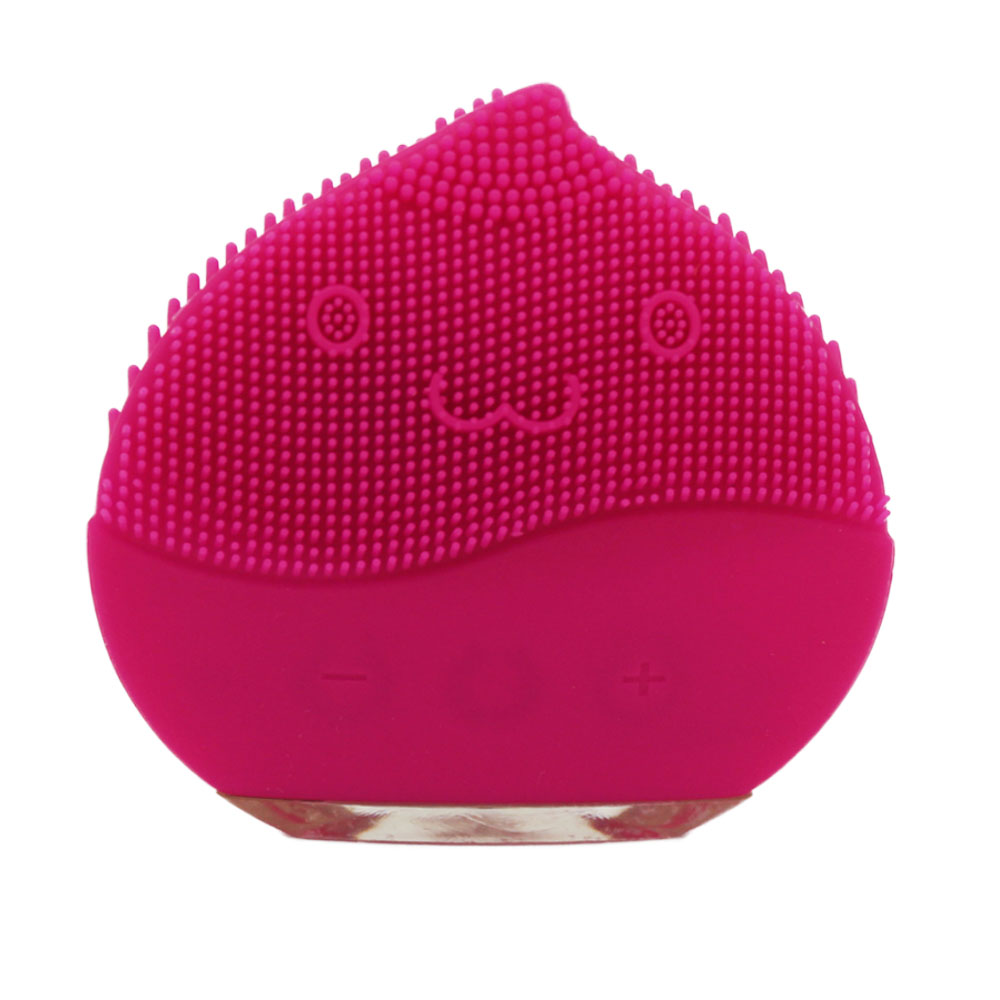 Portable Rechargeable Waterproof Silicone Facial Cleansing Brush - KingCare.net
