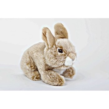 Wild Animal Real Looking Rabbit Plush Stuffed Toy