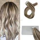 hot selling virgin human hair remy straight can be dyed and permed hair extensions tape in hair extensions for young girl