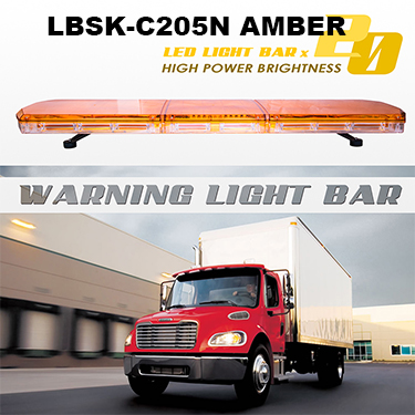 DC 12 V  Amber Yellow COB Beacon Light for Ambulance, Trucks,School Bus and other Emergency Vehicles