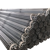 ASTM A53 Hot Dip Galvanized Round Steel Pipe For Construction Material Galvanized Steel Pipe