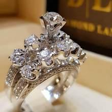Новинка 2019, модные обручальные кольца для пар, праздничные вечерние кольца для личного клуба, обручальные кольца для женщин, ювелирные изде...(Китай)
