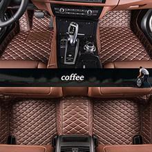 Автомобильный напольный коврик kalaisike, изготовленный на заказ, для Ssangyong всех моделей, Rodius ActYon kyron Rexton, Korando, автостайлинг, автомобильные аксес...(Китай)