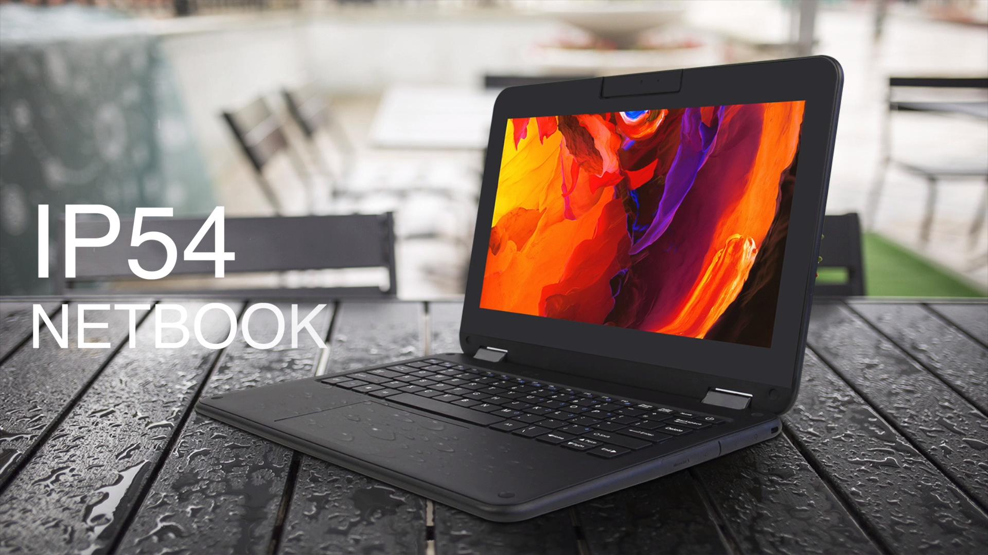 Nouveau 11.6 pouces Yoga 360 degré ordinateur portable Intel Z8350 ordinateur portable rotatif portable