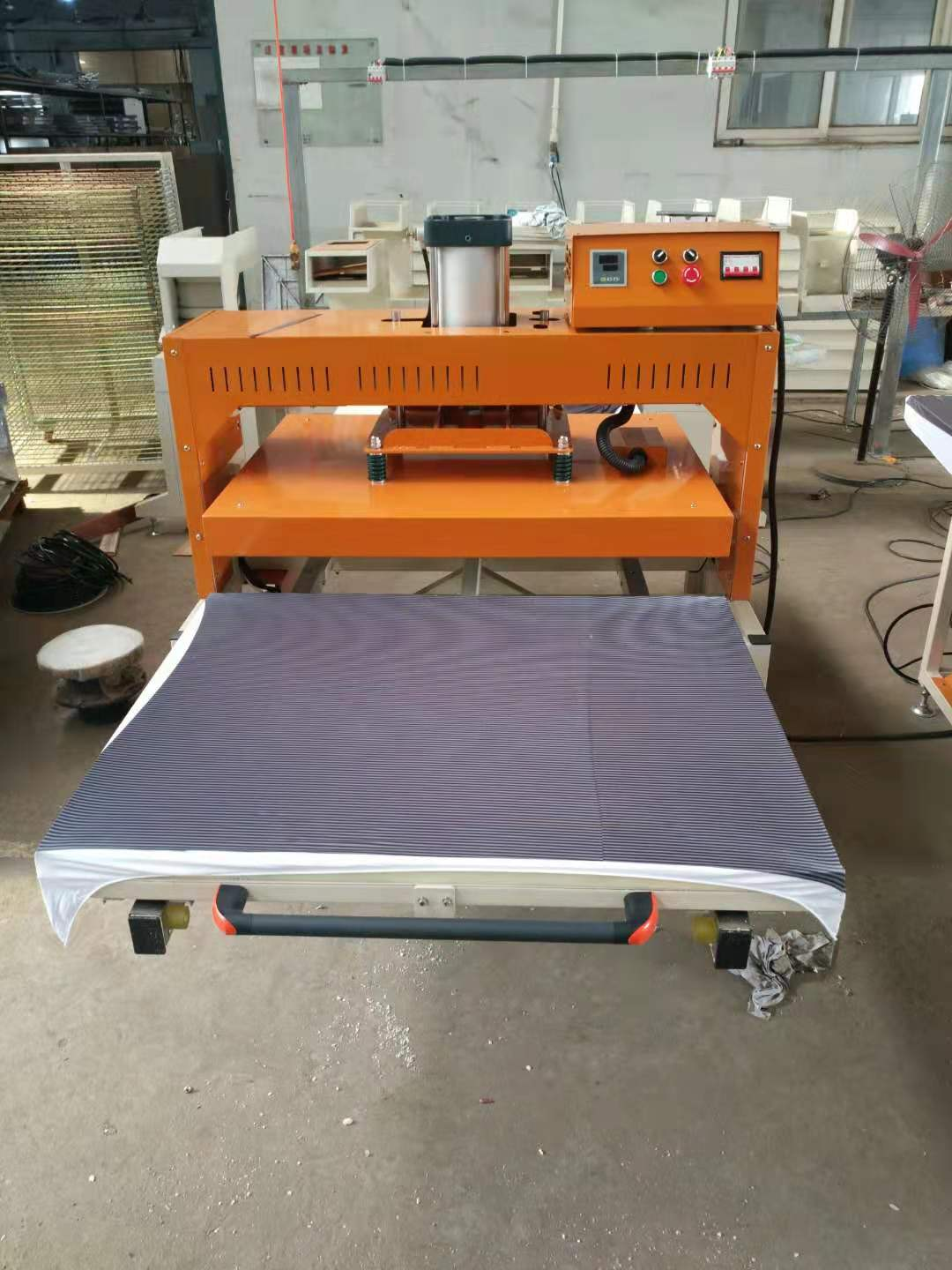 HJD-K701 Large Printing Area 80*100 cm Textile Cloth Heat Transfer Printing Machine